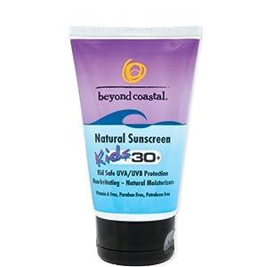 Beyond Coastal Kids Natural SPF 30 Sunscreen (4-Ounce)