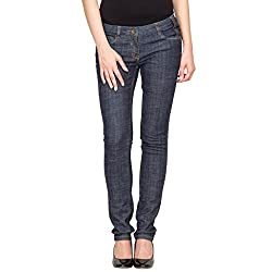Species Women's Slim Fit Jeans (S-508_Blue_Small)