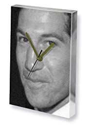 JON BERNTHAL - Canvas Clock (LARGE A3 - Signed by the Artist) #js001