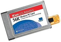 U.S. Robotics 56K Modem PC Card with X-Jack