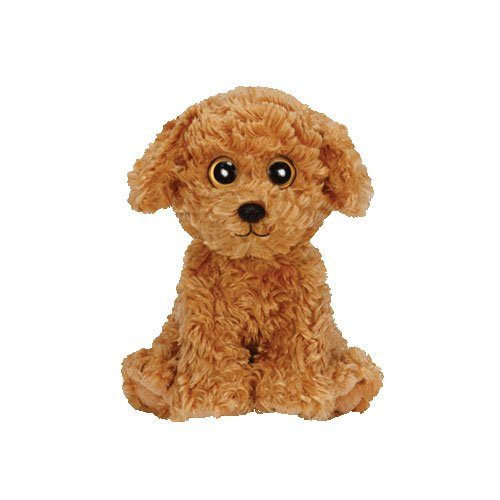 Ty Beanie Babies Luke the Tan Dog Plush - 1