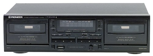Great Deal! Pioneer CT-W205R Dual-Well Auto-Reverse Cassette Deck (Dolby B/C) (Discontinued by Manuf...