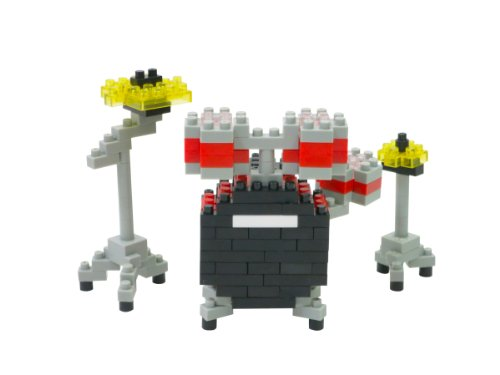 nanoblock Drum Kit NBC_123 3D puzzle Drum Set