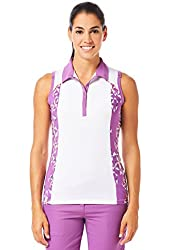 Callaway Golf Women's Ava Sleeveless Polo Dewberry