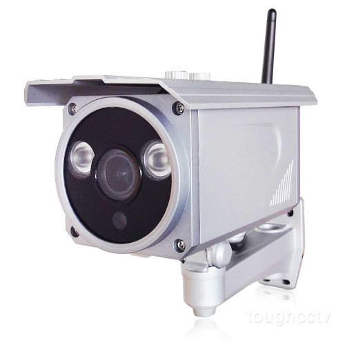 "Toughstyâ""¢ 2MP 1080P Full HD Color Outdoor IR Day/Night Vision Wifi  Wireless Onvif IP Camera with 2 8-12mm Vari-focal Lens"