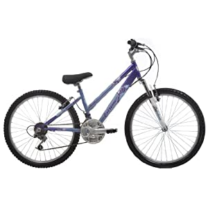 EXTREME by Raleigh Roma Girls Girls Mountain Bike - Blue/Purple, 24-inch Wheel, 13 Inch Frame