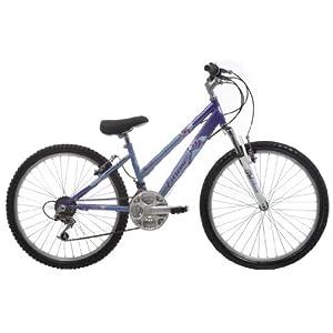 EXTREME by Raleigh Roma Girls Girls Mountain Bike - Blue/Purple, 24-inch Wheel, 13 Inch Frame