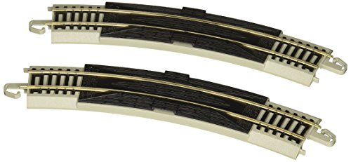 "Bachmann Trains Snap-Fit E-Z Track 18"" Radius Curved Rerailer (2/card)"