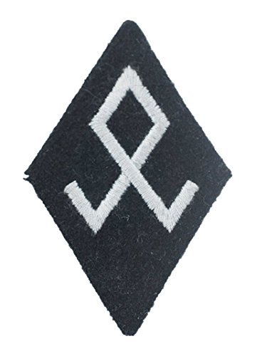 WWII Elite EM NCO Race and Rehabilitation sleeve diamond insignia Replica sport elite se 2450