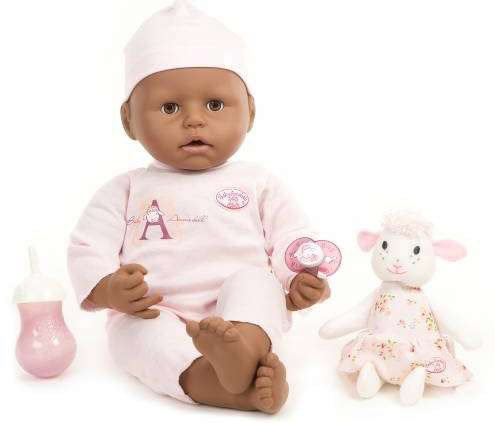 Baby Annabell African American front-28628