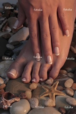 Wallmonkeys Peel and Stick Wall Graphic - Girl,s Foot with French Style Pedicure under the S - 18