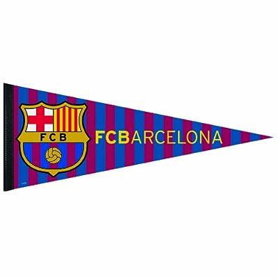 INT'L SOCCER FC Barcelona Premium Quality Pennant, 12 x 30-Inch