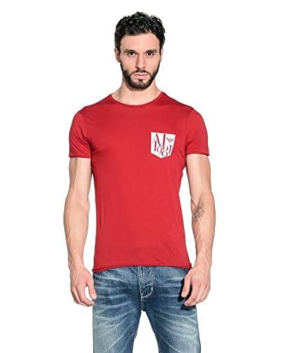 Armani Jeans T-Shirt Manica Corta A6H09-Ms 4H [Rosso]