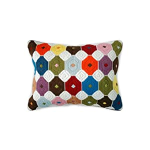 Jonathan Adler Chamomile Bargello Pillow