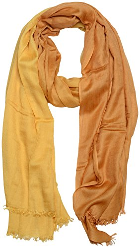 Paul Salon PAUL SALON Women's Scarf (Ochre, 200 Cms X 100 Cms)