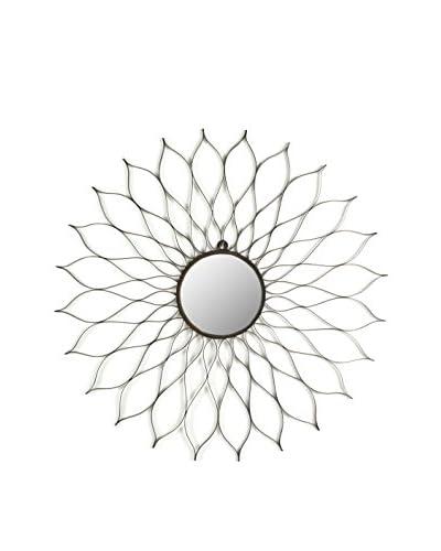 Safavieh Flower Mirror, Powder