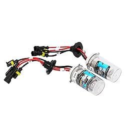 See Rosequartz H4 35W 10000K Double-Barrelled HID Xenon Car Light Bulbs (Pair) Details