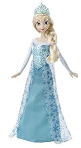 Disney Frozen Sparkle Princess Elsa Doll from Mattel