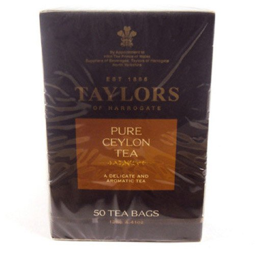 Taylors of Harrogate - Pure Ceylon Tea - 50 Teabags