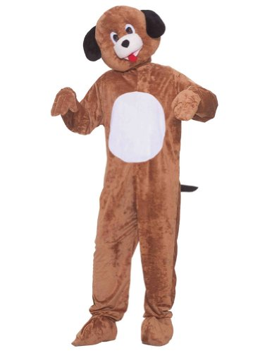 Puppy Mascot Adult Costume Halloween Costume - Most Adults