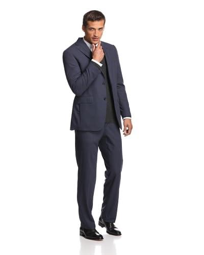 Samuelsohn Men's Micro Houndstooth Suit
