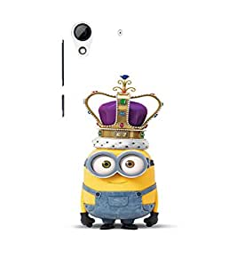 EPICCASE Minion King Mobile Back Case Cover For HTC Desire 626 (Designer Case)