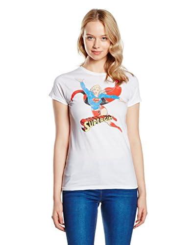DC COMICS Camiseta Manga Corta Supergirl Arms Spread
