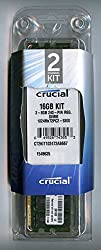 Crucial Technology CT2CP102472AB667 16 GB (8 GBx2) 240-pin DIMM DDR2 PC2-5300 CL=5 Registered ECC DDR2-667 1.8V 1024Meg x 72 Memory Kit