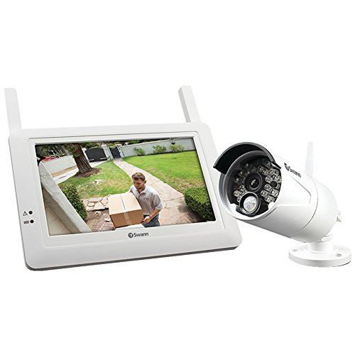 "1 - Digital Wireless Monitor System, Model No. Swadw-410Kit-Us, Cutting Edge Surveillance Kit Includes Digital Wireless Camera & High Resolution 7"" Lcd Touchscreen Monitor, Connects Digital Wireless Screen To Home Router & Uses Swannlink Peer-To-Peer Tech"