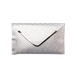 ZAB Silver colour Trendy Handbag Cum Sling Bag for Women-ZAPL008