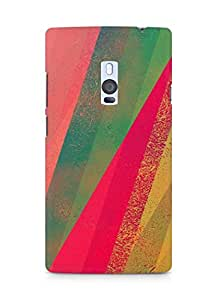 AMEZ Spectrum color Back Cover For OnePlus Two