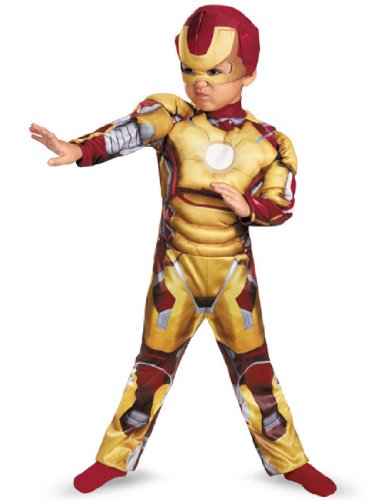 Boy's Iron Man Mark 42 Costume (Iron Man Costume 4t compare prices)