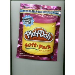 Play-Doh Soft Pack and 1 Shape Cutter - Pink (Soft Play Dough compare prices)
