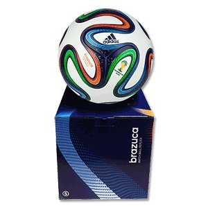 Adidas Brazuca Top Replique X-Mas G73621 Match Ball Replica Size 5 Multicoloured / White / Night Blue