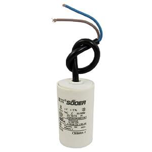 AC 450V 8uF Polypropylene Film Motor Start Capacitor by Amico