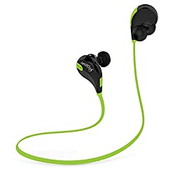 leoxsys LB42 Wireless Bluetooth Headphones Sports Earbuds Headphones Sweatproof Running Gym Stereo Headset Built-in Mic/APT-X for iPhone 6/6sPlus, Samsung Galaxy S6/S5, Android & any Bluetooth Enabled Tablets