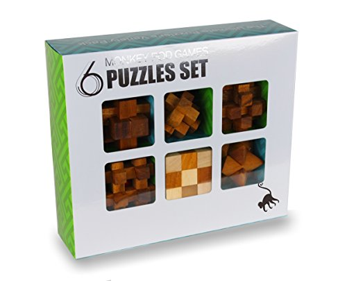 Monkey Pod Games Six-Pack Gift Set - Full size puzzle set