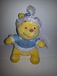 Mini Bean Bag - Blue Sweater Winter Pooh - 6