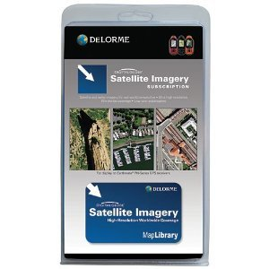 DeLorme Digital Globe Satellite Imagery Subscription Card for GPS