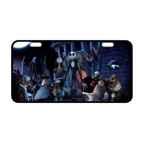 Good.luck Custom Nightmare Before Christmas Metal License Plate for Car 12 X 6 Inch (Nightmare License Plate Frame compare prices)