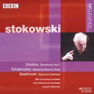 シベリウス:交響曲第2番/チャイコフスキー:バレエ音楽「眠りの森の美女」(抜粋)(BBC響/ニュー・フィルハーモニア管/ストコフスキー)(1964-1973)
