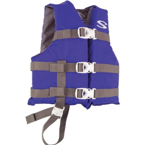 Stearns Stearns Classic Child Life Jacket F/30-50 Lbs. - Blue / 3000001302 / front-216297