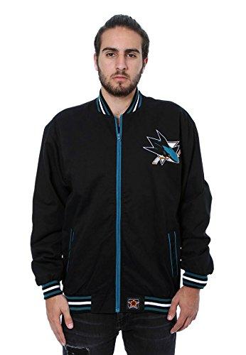 San Jose Sharks Lightweight Zip-Up Jacket (X-Large)
