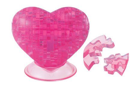Crystal Puzzle Heart - 1