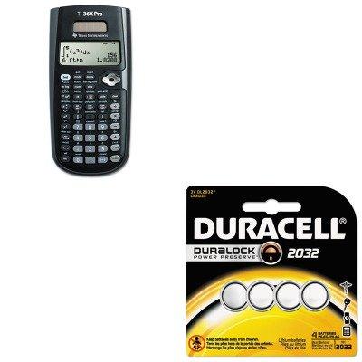 kitdurdl2032b4pktexti36xpro-value-kit-texas-instruments-ti-36x-pro-scientific-calculator-texti36xpro
