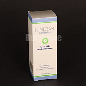 Kinerase Clear Skin Treatment Serum, 1-Ounce Box