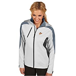 Baltimore Orioles Ladies Discover Jacket (White) by Antigua