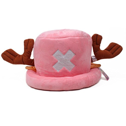 LIANGSM Anime One Piece Tony Chopper Hat Cosplay Prop Cap Hat Costume Hat (pink) (One Piece Chopper Man compare prices)