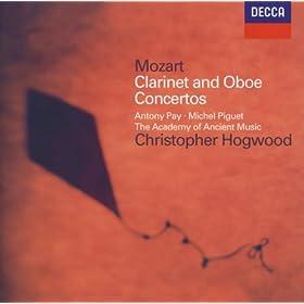 Mozart: Clarinet Concerto / Oboe Concerto