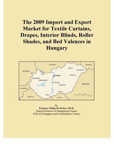 The 2009 Import and Export Market for Textile Curtains, Drapes, Interior Blinds, Roller Shades, and Bed Valences in Hungary